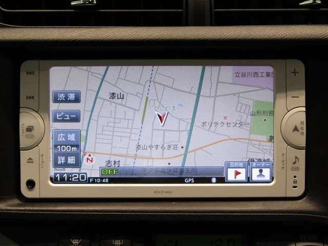 トヨタ純正ナビNSCP-W62パイオニア製です。