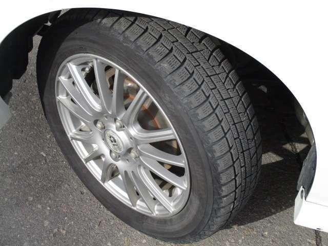 冬タイヤサイズは、155/65R14です。