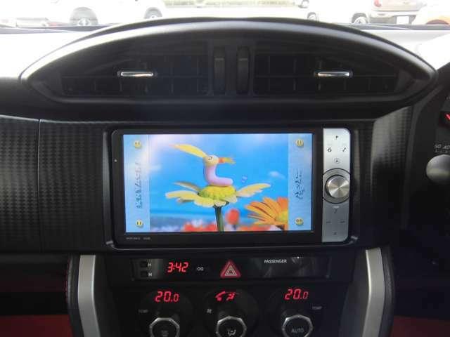 フルセグTV・CD録音・Bluetoothなど機能満載☆