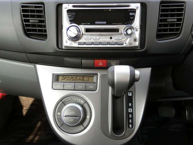 オートエアコン!AUTOボタンを押せば設定した温度に自動で調整してくれるので楽々快適!