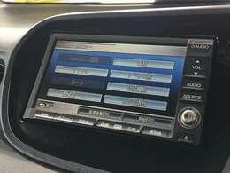 純正インターナビ ワンセグ/AM・FMラジオ/CD/DVD
