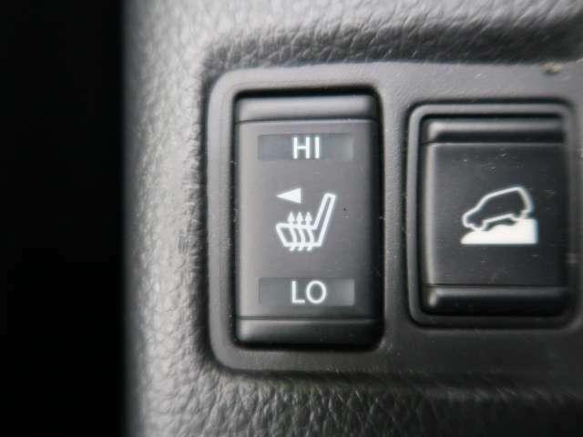◆【シートヒーター】エアコンの温風で体を温めることとは異なり、車内の乾燥を防ぎつつ体もポカポカです。