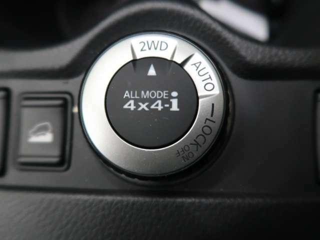 2WDと4WDの切り替えも可能です!