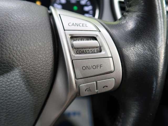◆【クルーズコントロール】高速道路などで走行中に一定のスピードで走行する機能です。簡単な操作で長距離の運転も疲労を軽減してくれる強い味方です。