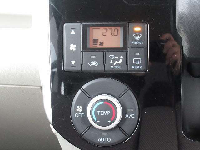 嬉しい快適装備 オートエアコン!車内を快適な温度に保てます!!