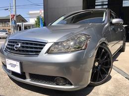 日産 フーガ 2.5 250GT 革 地デジ 20インチAW 新品タイヤ