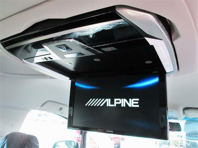 ◎プラズマクラスター付きアルパイン12.8インチ後席モニターが装備されています!!