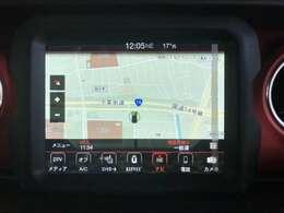 8.4インチVGAタッチパネルモニター地デジチューナー内臓Bluetooth、USB、AppleCarPlay、AndroidAuto対応。