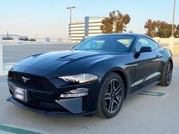 フォード マスタング エコブースト プレミアム 走行証明書レザーシート