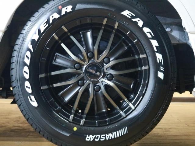 タイヤはグッドイヤーのナスカータイヤ採用で車検も安心です♪
