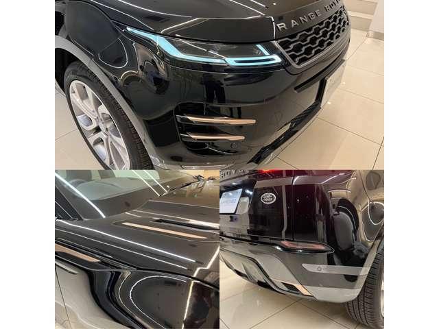 R-Dynamic専用エクステリアアクセサリー 各パーツにボディを惹き立てるデザインが採用され、他のグレードとは一線を画します。