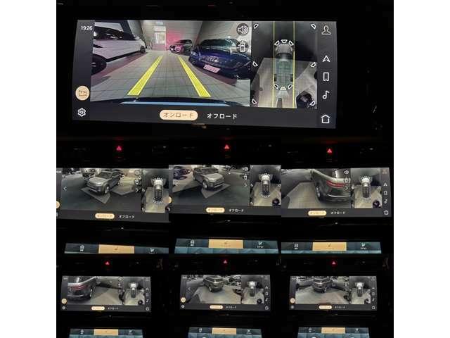 新システム【Pivi Pro】は新たな機能として3Dサラウンドカメラシステムを搭載。車輌AIにより映像処理を行い車輌の周囲までを立体的に表現します。某ドイツブランドの最上級モデルでも話題になった機能と同様です。