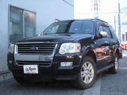 フォード エクスプローラー XLT 4WD 黒本革サンルーフ地デジHDDナビBカメラ