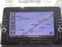MM319D-L型メモリーナビゲーションです。快適なドライブをサポートします