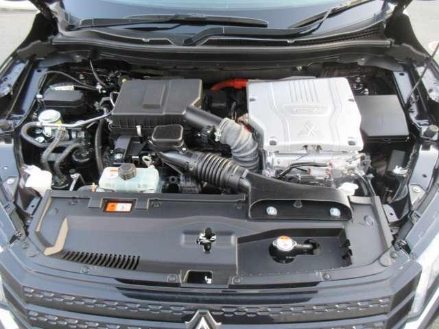 EVとエンジンの切り替わりもほとんどわからずに静かな走行を実現