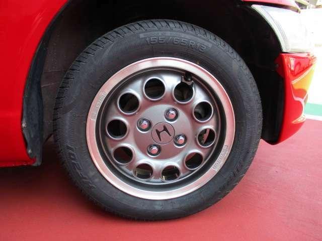 タイヤ新品・ホイール塗装済