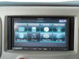 【パナソニック製カーナビ装着車】 SD再生・音楽録音対応モデルです。☆日産販売店装着オプション部品の取付承っております。スタッフまでお気軽にご相談ください。