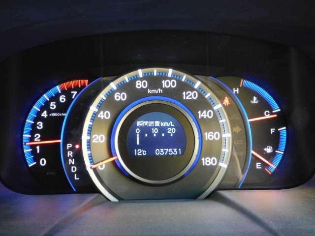 ワンオーナー!走行わずか 37,600km!!マルチインフォーメーションディスプレイ機能付メーターです。(Li グレード標準装備)
