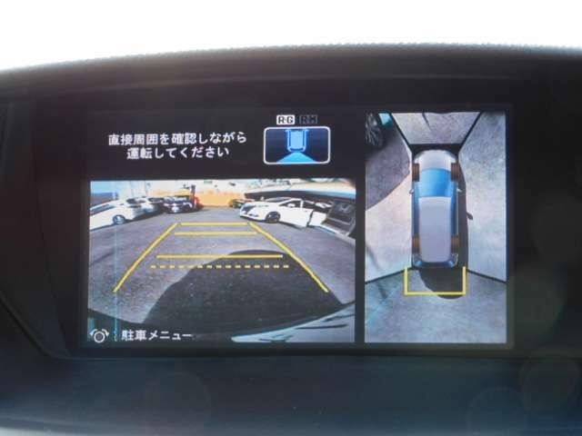 メーカーオプションHDDインターナビフルセグTV&マルチビューカメラシステム付バックモニター