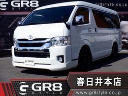 トヨタ ハイエース 2.7 GL ロング ミドルルーフ Fリップスポイラ RAYS18inAW PMV パワスラ