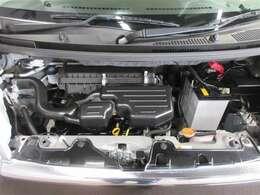 パワフル&クリーンで低燃費なエンジン