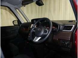 運転席からの視界も良くて運転しやすいお車です♪