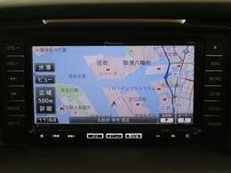 ナビ フルセグTV CD/DVD再生 Bluetooth機能付き