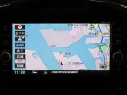 メモリーナビ フルセグTV DVD再生 Bluetooth機能付き
