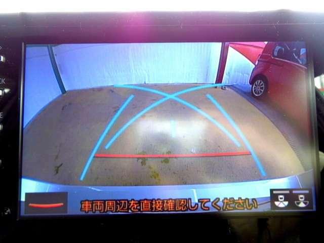 バックカメラがついて後方確認が簡単にできます!苦手としている車庫入れ等も安心して出来ますね!凄く需要の高い装備ですので、最初から付いていれば言う事なしですよね!?