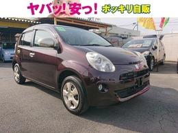 トヨタ パッソ 1.0 プラスハナ 1オーナー禁煙車・純正ナビ・バックカメラ