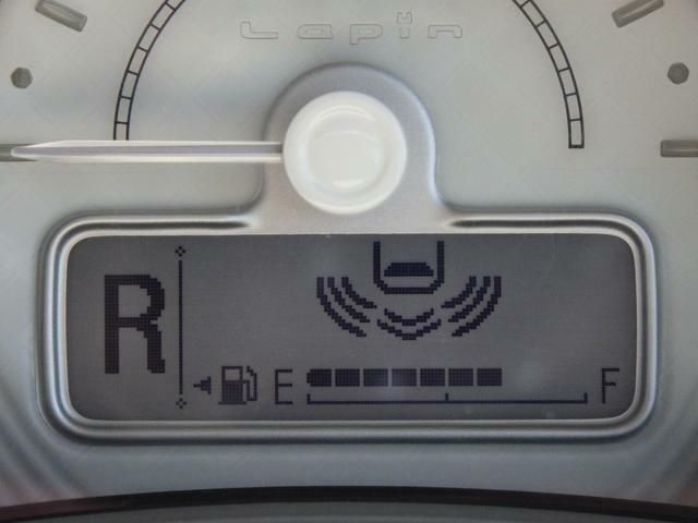 リヤの障害物との距離は、ブザー音とディスプレイ表示で確認できます。