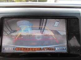 ☆バック移動やバック駐車などで活躍間違いなしの安心・安全のバックカメラ(ガイド付)が付いております☆