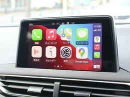 便利でスタイリッシュなApple CarPlay グーグルマップ、Yahooカーナビやアップルミュージック等の音楽アプリも使用可能です