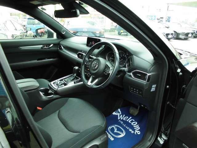運転席廻りの画像です。とても使いやすい運転席です。