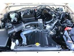 V6・4000ccの1GRエンジン!トルクフルな走りに定評がございます!