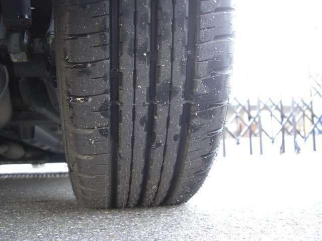 タイヤは4本共新品に交換済みです。