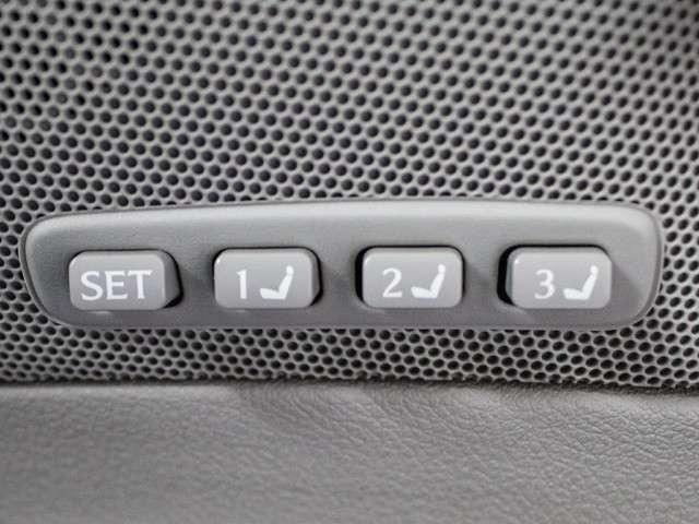 シートメモリ-機能装備!3パターンの登録が可能となります。