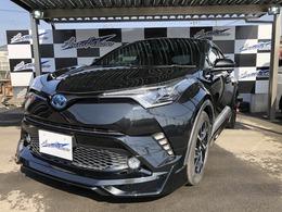 トヨタ C-HR ハイブリッド 1.8 G LED エディション LEDライト付きフルエアロ 純正9インチナビ