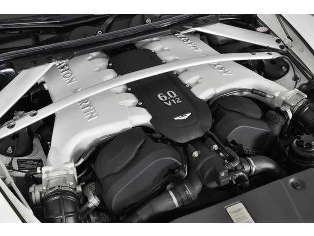 ◆エンジン:5.9リッターV12 DOHC 48バルブ◆