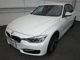 BMW 3シリーズ 320i スポーツ 禁煙車純正ナビ黒革シート純正前後ドラレコ