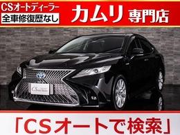 トヨタ カムリ 2.5 G 禁煙/新品黒革/SDナビ/Newスピンドルグリル