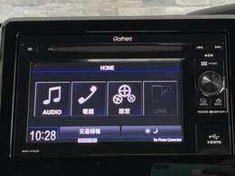 純正のディスプレイオーディオ〈WX-171CP〉が搭載されています。