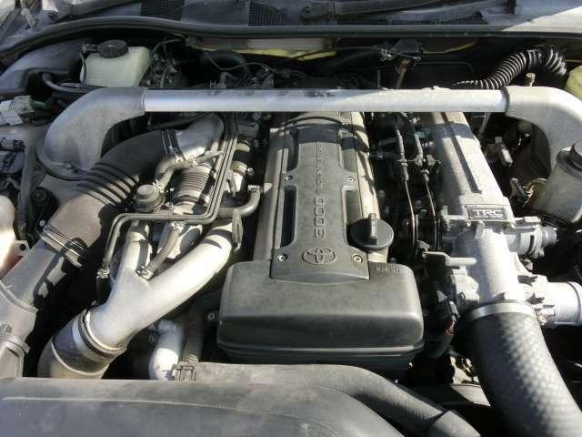 パワフルな2JZターボエンジンが搭載されておりますThe powerful 2JZ turbo engine is equipped