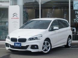 BMW 2シリーズグランツアラー 218d Mスポーツ 純正ナビ LEDライト Bカメラ 電動ゲート