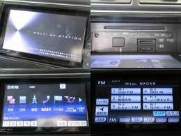 お出掛けに嬉しい、純正SDナビ(フルセグ地デジTV)付きです♪DVDビデオ再生機能・音楽録音機能・AUX/USB/Bluetooth接続も装備しております♪