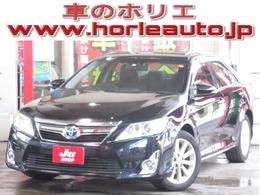 トヨタ カムリハイブリッド 2.5 Gパッケージ 純正SDナビ地デジ電動シート純正17AW