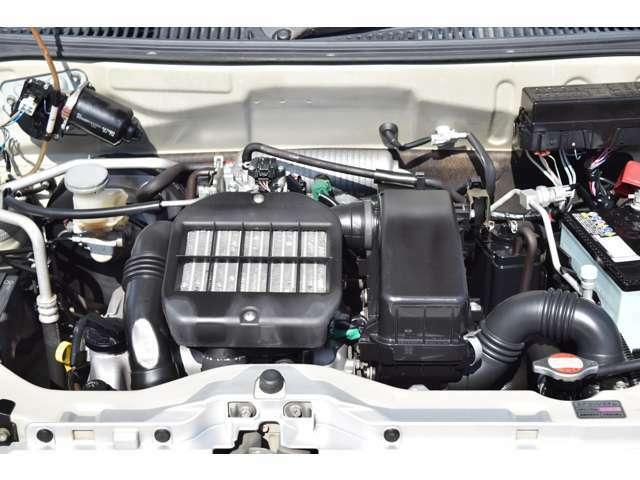 K6Aインタークーラーターボエンジンでストレスなく走ります。後期モデルです。
