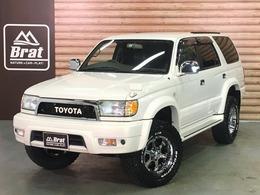 トヨタ ハイラックスサーフ 2.7 SSR-X ホワイトプレミアム 4WD 2インチリフトUP MKW16AW BFグッドリッチ