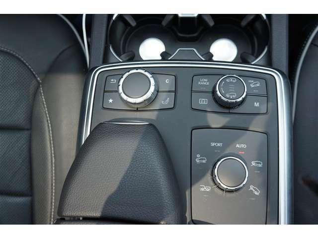 最新の安全システム、「レーダーセーフティパッケージ」。「360°カメラシステム」をメルセデス・ベンツとして初めて導入。され、「アクティブパーキングアシスト」も装備。コントロールパネルに擦れ/汚れもない。