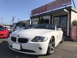 BMW Z4 ロードスター2.5i 電動オープン・ナビ・ETC・バックカメラ